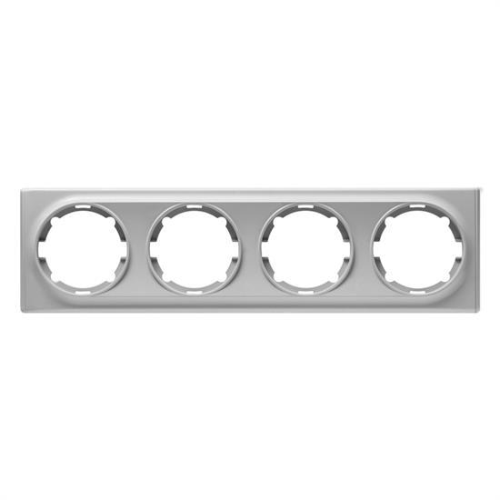 Рамка OneKeyElectro, серия Florence, горизонтальная, 4 поста - фото 8711