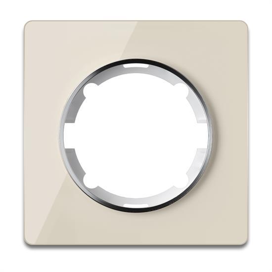 Рамка стеклянная OneKeyElectro, серия Garda, горизонтальная, 1 пост - фото 8752