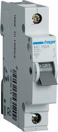 Автоматический выключатель Hager 1P 6kA C-32A 1M MC132A