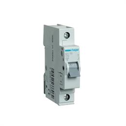 Автоматический выключатель Hager 1P 4, 5kA C-10A 1M