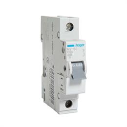 Автоматический выключатель Hager 1P 4, 5kA С-50A 1M