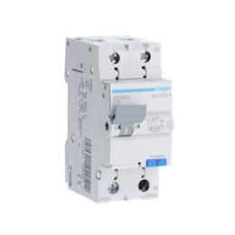 Дифференциальный автоматический выключатель Hager 1P+N 4.5kA C-10A 30mA