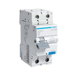 Дифференциальный автоматический выключатель Hager 1P+N 4.5kA C-32A 30mA