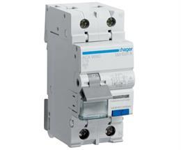 Дифференциальный автоматический выключатель Hager 1P+N 6kA C-16A 10mA A