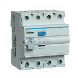 Устройство защитного отключения Hager 4P 63A 300mA AC