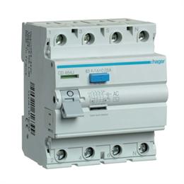 Устройство защитного отключения Hager 4P 63A 30mA AC
