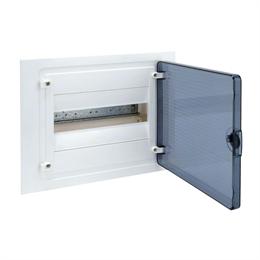 Щит скрытой установки Hager, 12М, с прозрачной дверцей