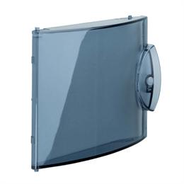 Дверца прозрачная для мини-щитка Hager GD104