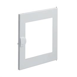 Дверца с прозрачным окном запасная, для встраиваемого щитка Hager Volta, 1-рядного
